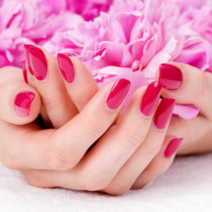 manicure fucsia my beauty art